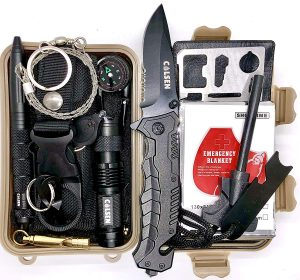 13-in-1 Emergency Survival Kit