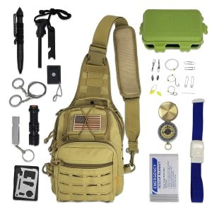 28-pieces Bug-out-bag