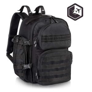 Black Military Backpack
