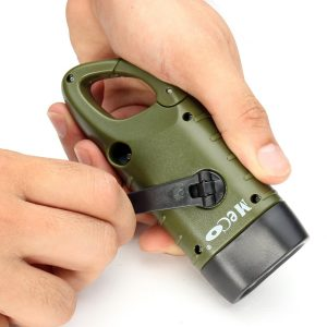 Hand-Cranking LED Flashlight