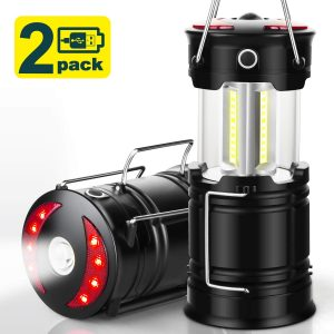 Rechargeable LED Camping Lanterns Best Survival Gear
