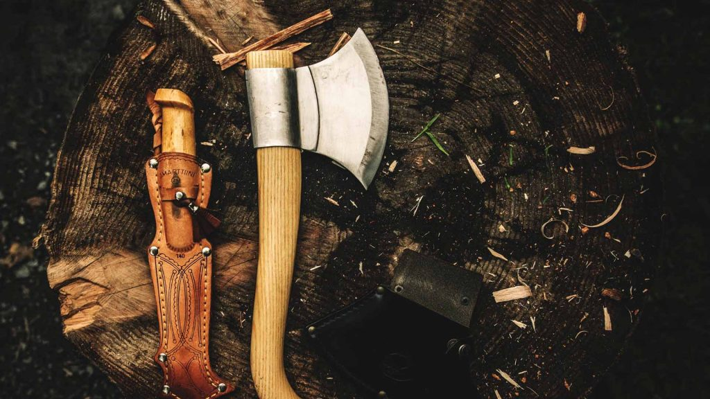 best survival axes