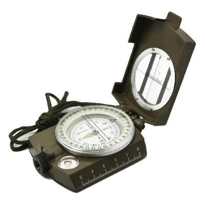 Prismatic Sighting Survival Emergency Compass