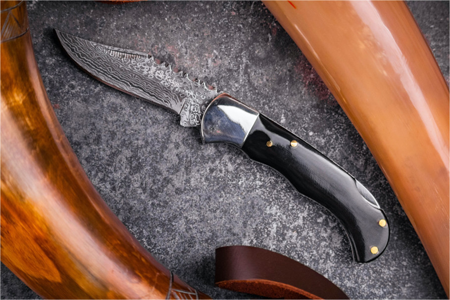 real damascus steel